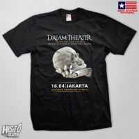 Kaos Band Rock Dream Theater Distance Over Time Tour - DT52 BK