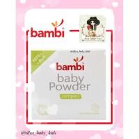 Bambi Baby Powder Compact Refill 40g bedak + BUBBLE