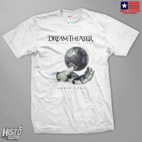 Kaos Band Rock Dream Theater Distance Over Time Tour - DT54 WH