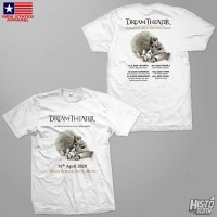 Kaos Band Rock Dream Theater Distance Over Time Tour - DT51 ASIA2 WH