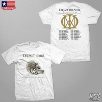 Kaos Band Rock Dream Theater Distance Over Time Tour - DT53 USA1 WH