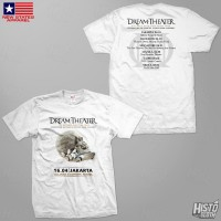 Kaos Band Rock Dream Theater Distance Over Time Tour - DT52 ASIA1 WH