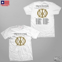 Kaos Band Rock Dream Theater Distance Over Time Tour - DT60 USA1 WH