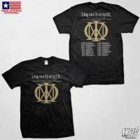 Kaos Band Rock Dream Theater Distance Over Time Tour - DT60 USA1 BK