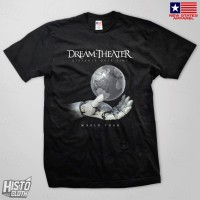 Kaos Band Rock Dream Theater Distance Over Time Tour - DT54 BK