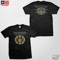 Kaos Band Rock Dream Theater Distance Over Time Tour - DT60 ASIA3 BK