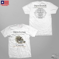 Kaos Band Rock Dream Theater Distance Over Time Tour - DT51 ASIA1 WH