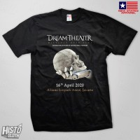 Kaos Band Rock Dream Theater Distance Over Time Tour - DT51 BK