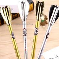 SATUAN Pulpen Busur Anak Panah / ecer dart gel pen