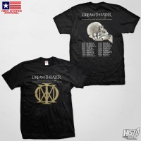 Kaos Band Rock Dream Theater Distance Over Time Tour - DT60 USA3 BK
