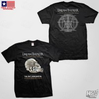 Kaos Band Rock Dream Theater Distance Over Time Tour - DT52 ASIA1 BK