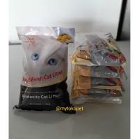 SH2812 Paket ORI CAT 5Kg dan Pasir Kucing TOP 5 Ltr