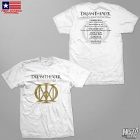 Kaos Band Rock Dream Theater Distance Over Time Tour - DT60 ASIA1 WH