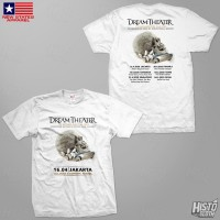 Kaos Band Rock Dream Theater Distance Over Time Tour - DT52 ASIA2 WH