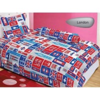 QPL ~ READY Bedcover ladyrose minion lol stich captain america m