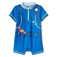 6-12 bulan baby gap baju renang anak laki swimsuit boy rash guard one