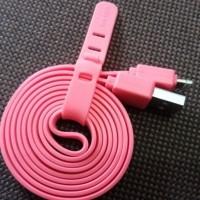 Kabel Data Vivan CSL100 1M Iphone 5 6 5S 6S Warna PINK