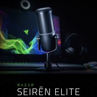 Razer Seiren Elite | Streaming / Studio Mic / Microphone