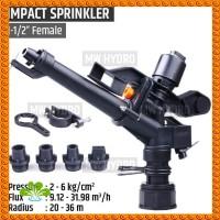 Impact Impulse Sprinkler Big Rain Gun 1-12 15 Inch - Medan