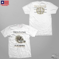 Kaos Band Rock Dream Theater Distance Over Time Tour - DT52 ASIA3 WH