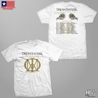 Kaos Band Rock Dream Theater Distance Over Time Tour - DT60 USA2 WH