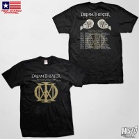 Kaos Band Rock Dream Theater Distance Over Time Tour - DT60 USA2 BK