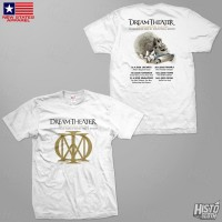 Kaos Band Rock Dream Theater Distance Over Time Tour - DT60 ASIA2 WH