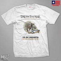 Kaos Band Rock Dream Theater Distance Over Time Tour - DT52 WH
