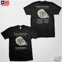 Kaos Band Rock Dream Theater Distance Over Time Tour - DT52 ASIA2 BK
