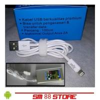 Kabel Data dan Cas iphone 5 5s 6 Ipad Mini Kualitas Premium Original