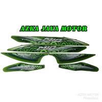 Striping / Sticker Yamaha Mio Smile warna hijau