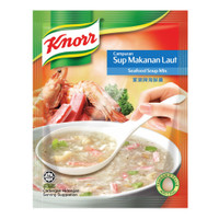 Knorr soup mix -cream mushroom/ chicken/ hot&sour/seafood/ tiger lily