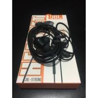 Headset Handsfree JBL STRONG BT-04 Hitam Putih Suara ngeBass