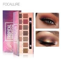 (BPOM) FOCALLURE FA49 Tropical Vacation Eyeshadow Palette 14gr