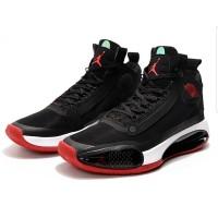 """Sepatu Basket Nike Jordan 34 Bred  Black Red """" Premium Original"""