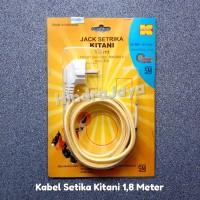 Kabel Setrika / Jack Setrika Kitani Panjang 1,8 Meter