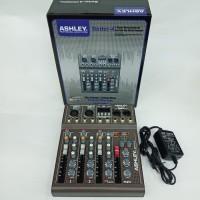 mixer audio ashley better4/better 4 4ch (usb-mp3-bluetooth) original