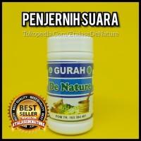 GURAH SUARA De Nature Oke Herbal Penjernih Suara Merdu