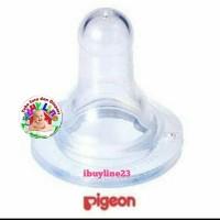 Pigeon Dot Silicone Nipple, Size M
