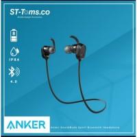 Earphone Anker SoundBuds Sport Bluetooth Headphone Headset A3233H12 OR
