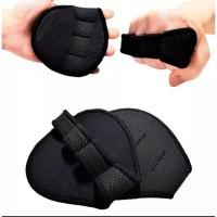 MKAS Sarung Tangan Gym / Fitness Grip Pad Gloves (2pcs)