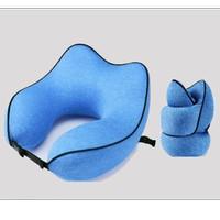 Bantal Leher Travel Pillow Rollable Design & Premium Quality