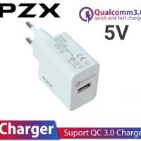 Charger Smart C 826 PZX Pengisi daya cepat 220V / 5V-12V Qualcomm 3.0