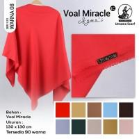 Hijab Jilbab Kerudung Syar'i Umama Voal Miracle Plain LC Part 1