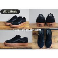 Sepatu Sneakers Pria Wanita Vans Oldskool Sol Gum Premium Kanvas DT