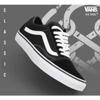 Sepatu Sneakers Pria Wanita Vans Oldskool Premium Kanvas DT Murah
