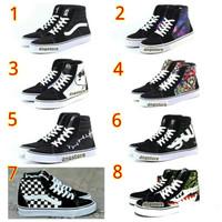 Sepatu Pria Sneakers Vans SK8 Motif Premium Kanvas Waffle DT Termurah