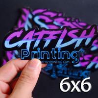Custom Vinyl Sticker Die cut