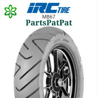 BAN IRC TUBELESS MB67 1109012 110/90-12 MB-67 SCOOPY BLKG RING 12 IRC