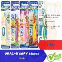 ORAL-B Sikat Gigi Bayi dan Anak 1 Pc ORAL B Baby & Kids Tooth Brush - STAGE 4